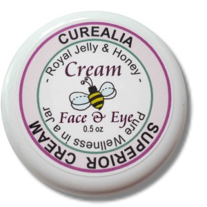 natural royal jelly cream, face eye cream royal jelly, sores remedy, burns remedy, rash natural remedy, wrinkles remedy, natural moisturizer