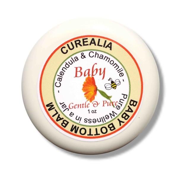 diaper balm, baby bottom, cradle cap, calendula balm, chamomile balm