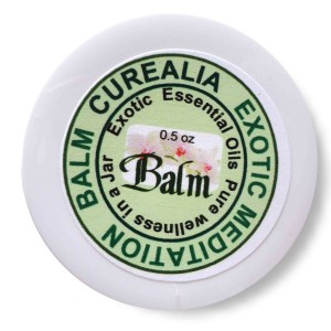 Exotic herbal balm curealia, yoga, meditation, general healing