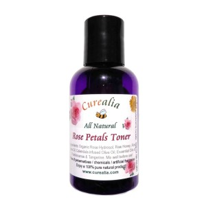 natural rose toner, regenerate skin, face toner, no chemicals